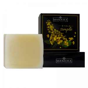 Mydło Simple MANAIKA NATURAL COSMETICS, 100g