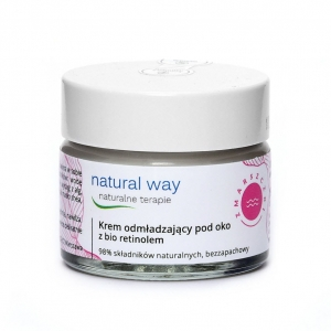 Krem pod oko z bio retinolem Natural Way 15 ml.